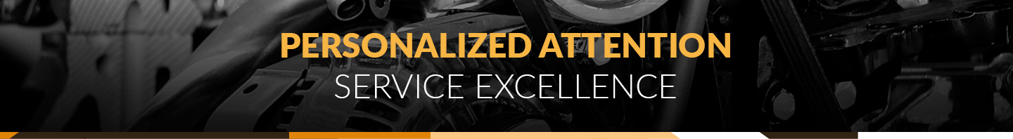 Personalized Attention - Service Excellence